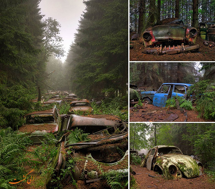 قبرستان قراضه ها در بلژیک