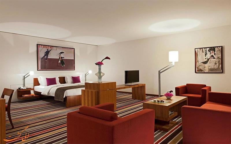 امکانات اتاق های هتل سوفیتل برلین