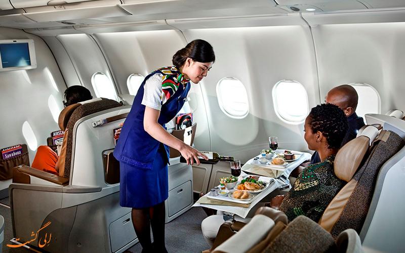 خدمه و پرسنل هواپیمایی آفریقای جنوبی
