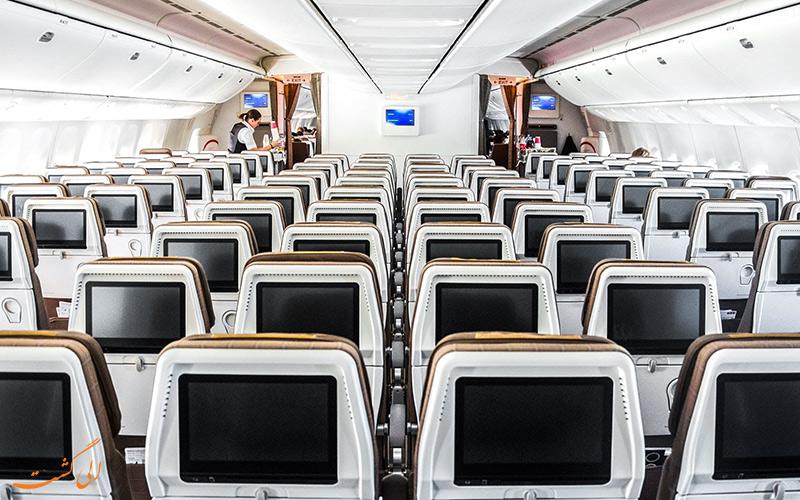 کلاس های پروازی شرکت سوئیس اینترنشنال ایر لاینز
