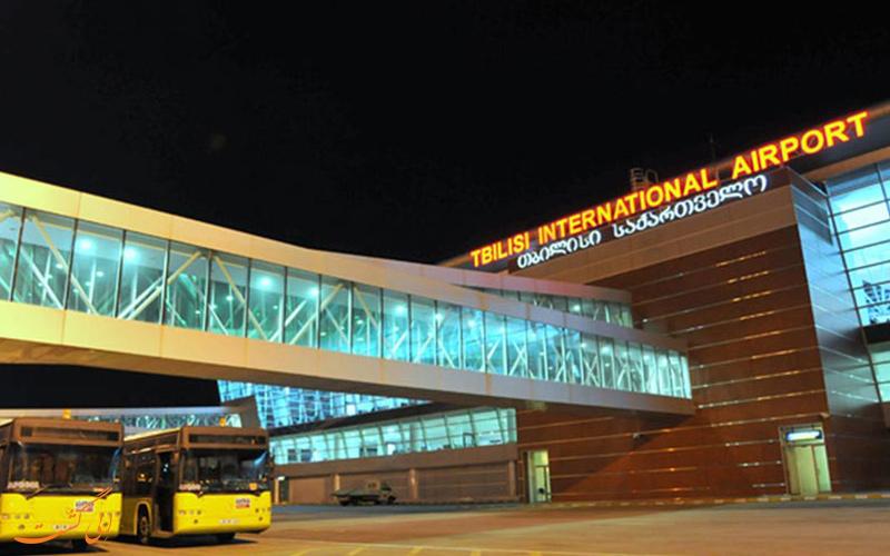 امکانات فرودگاه بین المللی تفلیس