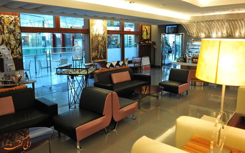 رستوران های فرودگاه بین المللی تفلیس