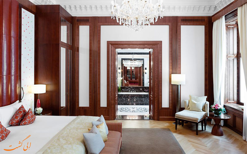 انواع اتاق- هتل ریتز-کارلتون وین