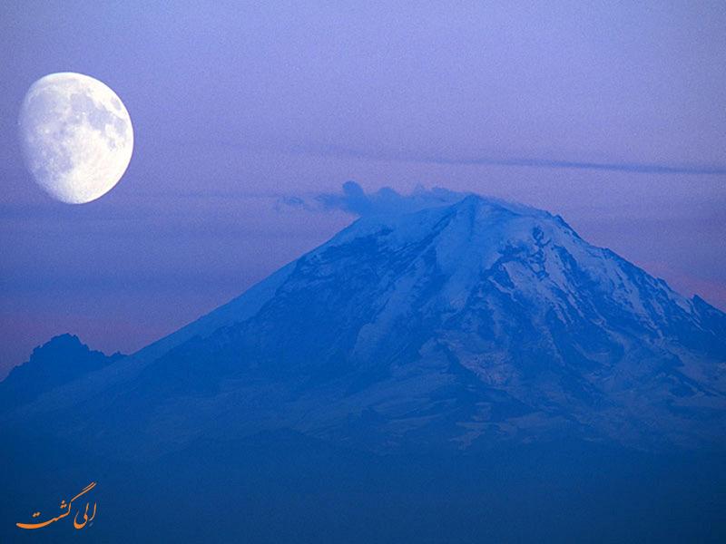 کوه رینر | بک گراوند دسکتاپ