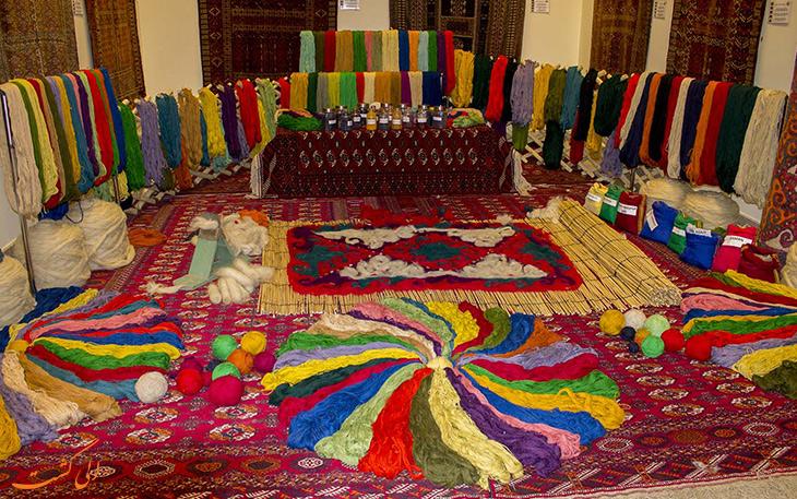 موزه فرش ترکمنی