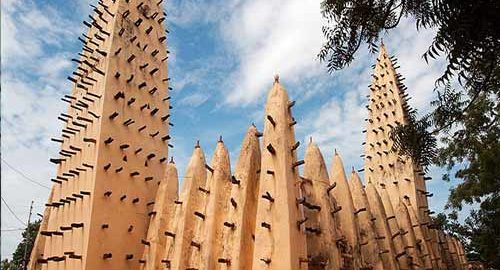 معماری مساجد آفریقا