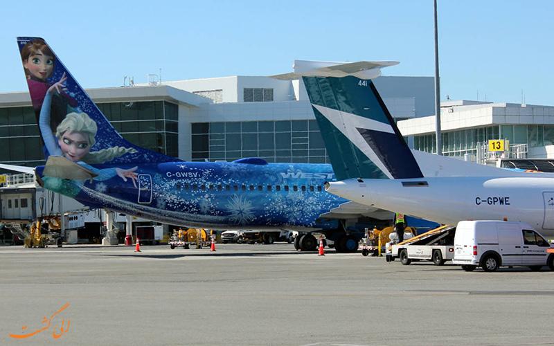باندهای فرودگاه بین المللی ونکوور