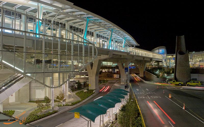 راه های دسترسی به فرودگاه بین المللی ونکوور