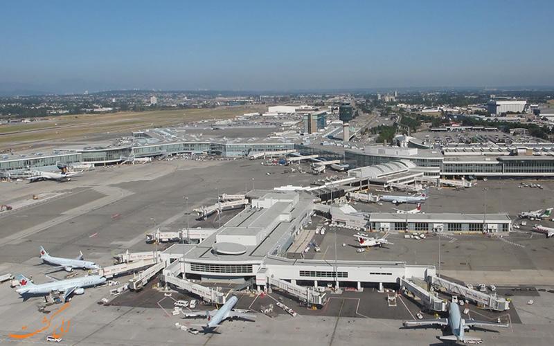 اطلاعات فرودگاه بین المللی ونکوور