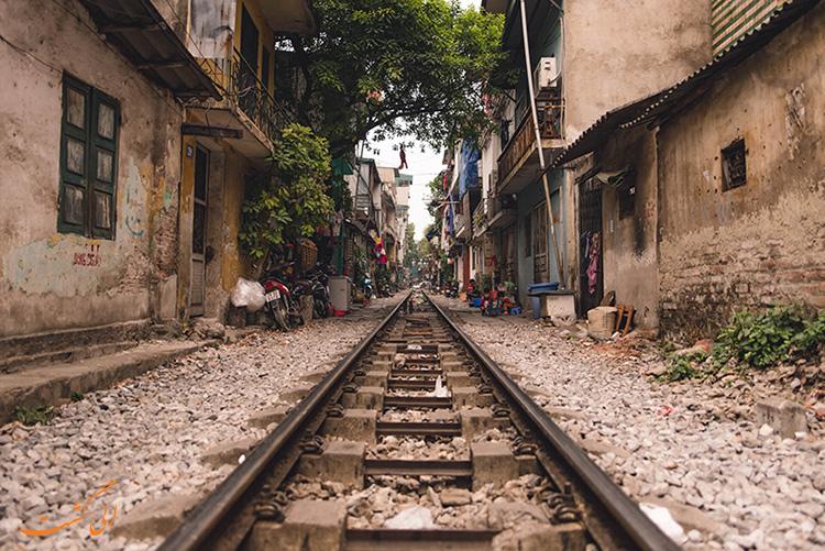 عکس های قطارهای هانوی ویتنام