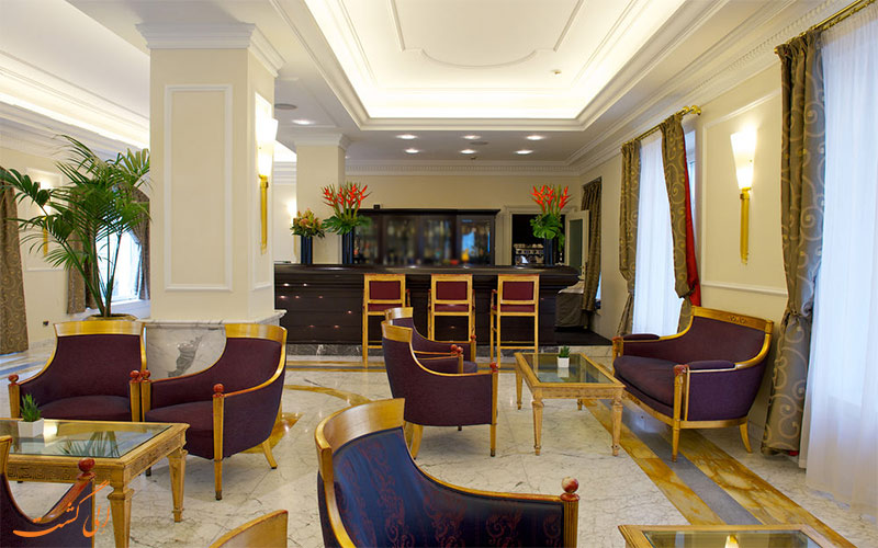 لابی- هتل گرند ویسکونتی پالاس میلان