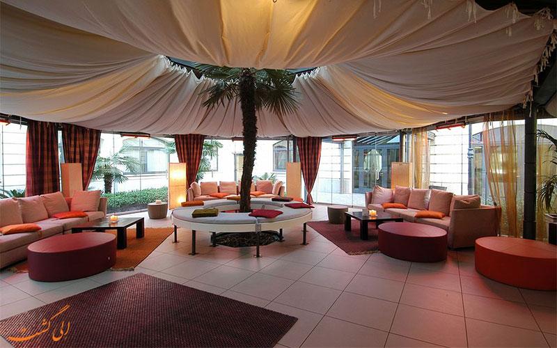 Visconti Palace- eligasht.com فضای نشیمن هتل