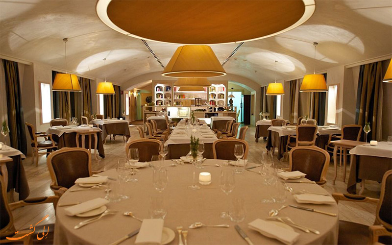 هتل گرند ویسکونتی پالاس میلان- رستوران