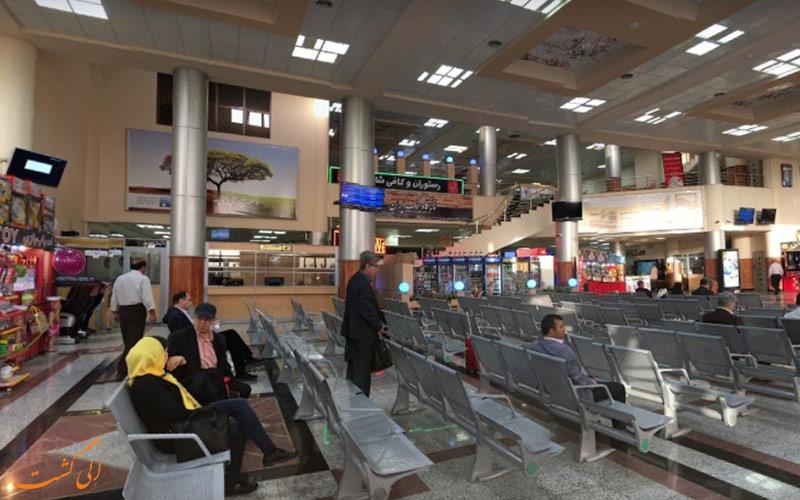 امکانات فرودگاه بین المللی یزد