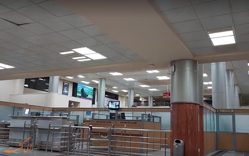 تاریخچه ی فرودگاه بین المللی یزد