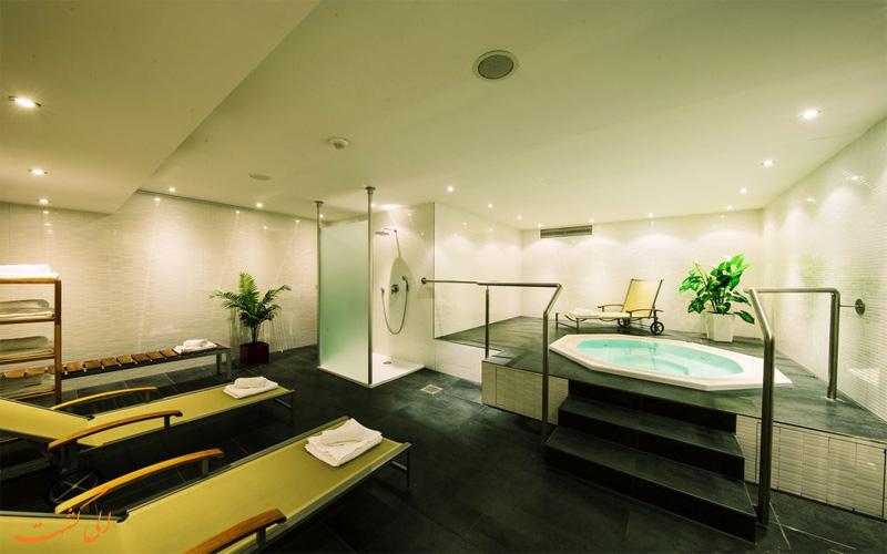 امکانات تفریحی هتل آبا برلین- حمام آبگرم