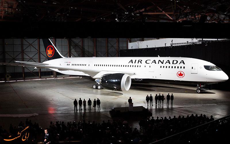 آشنایی با شرکت هواپیمایی ایر کانادا