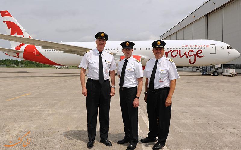 خلبانان ایر کانادا
