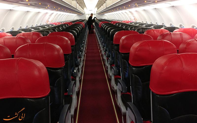 کلاس های پروازی ایر آسیا