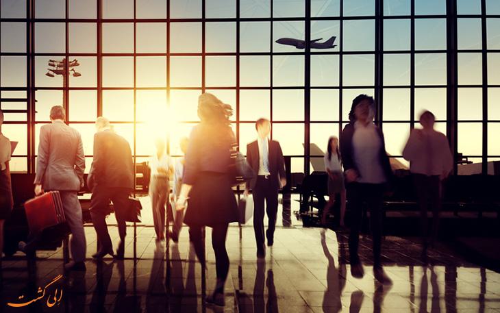 10 فرودگاه شلوغ جهان