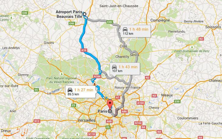 دورترین فرودگاه های جهان فرودگاه بووه پاریس