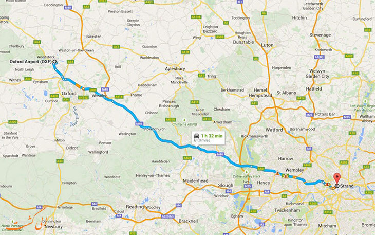 فرودگاه آکسفورد لندن: دورترین فرودگاه های جهان