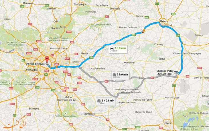 فرودگاه واتری پاریس: دورترین فرودگاه های جهان