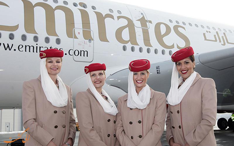 پرسنل هواپیمایی امارات