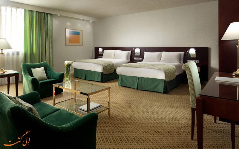 انواع اتاق های هتل اینترنشنال آتنیوم آتن