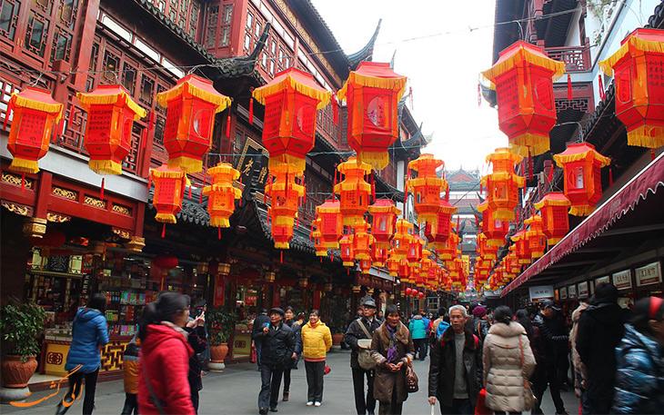 مراکز خرید شهر شانگهای