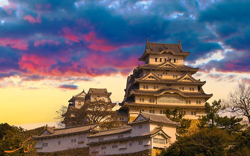 قلعه هبجمی از معروف ترین قلعه های ژاپن
