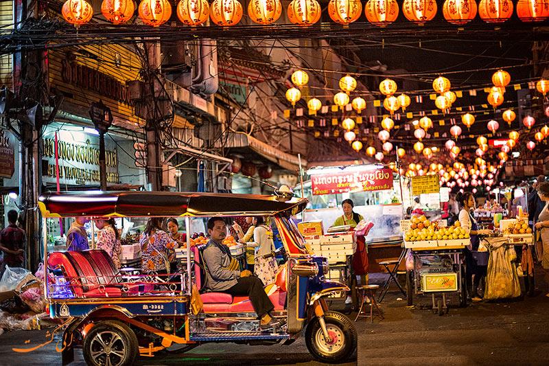 محله چینی ها در بانکوک تایلند