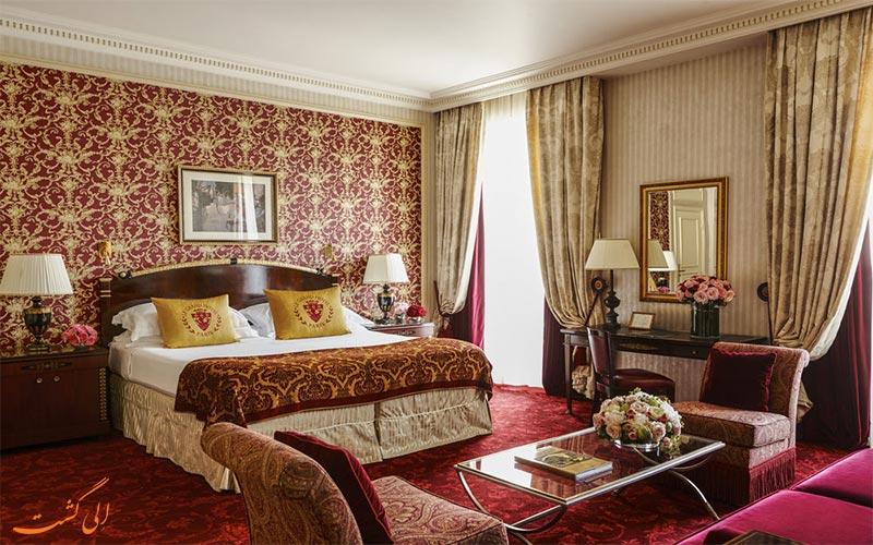 انواع اتاق های هتل اینترکنتینانتال پاریس