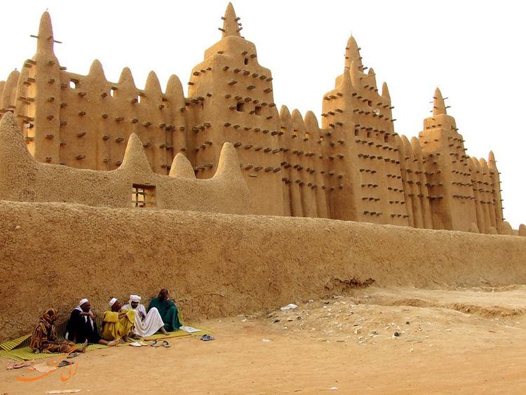 عکس مساجد آفریقا