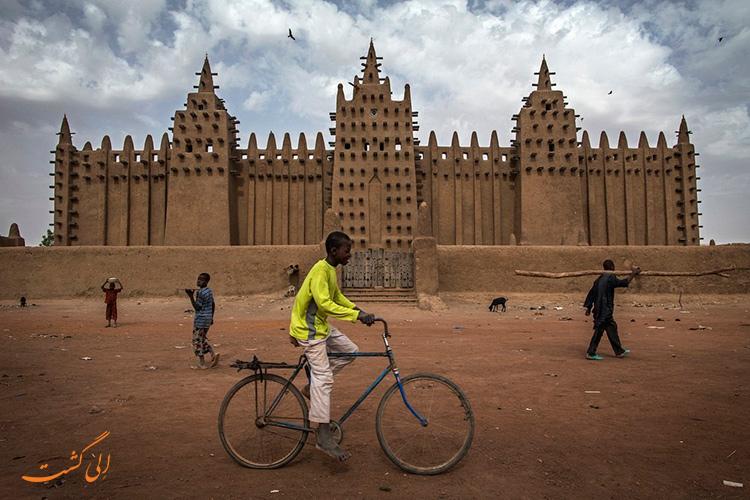 عکس معماری مساجد آفریقا