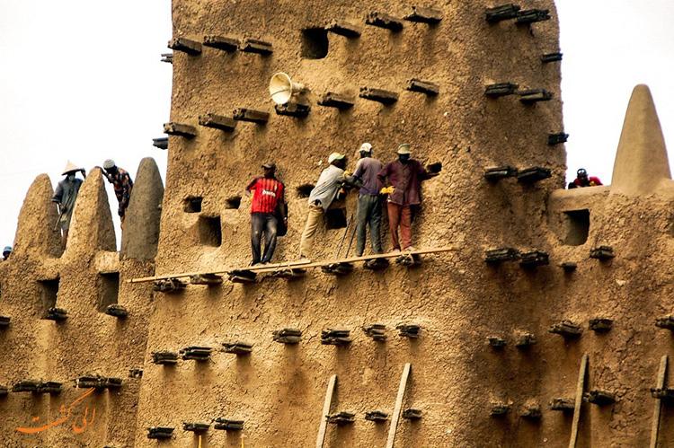 مسجدهای آفریقا