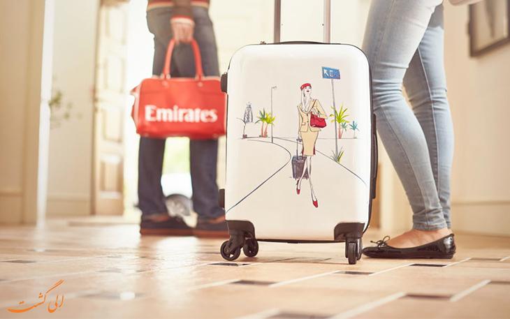 قوانین بار هواپیمایی امارات