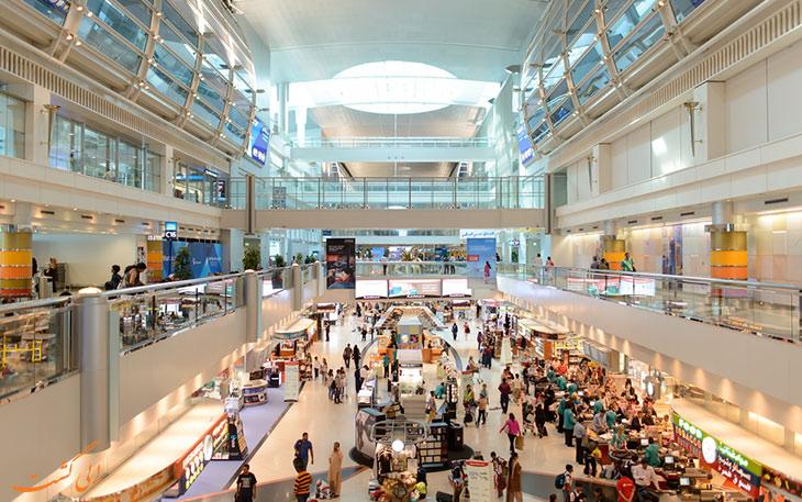 فرودگاه دبی در لیست شلوغ ترین فرودگاه های جهان