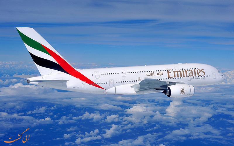 سفر به دبی با هواپیمای امارات