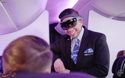 واقعیت افزوده در هواپیما ایرنیوزلند