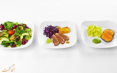 غذای هواپیمایی لوفت هانزا