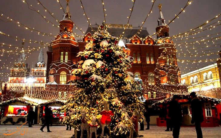 جشنواره های شهر مسکو