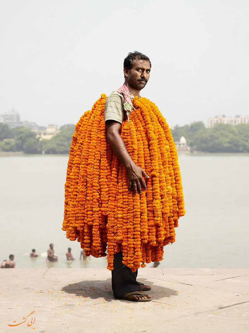 بازار گل کلکته در هند