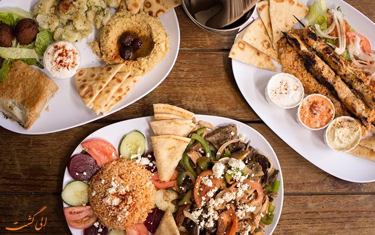 هزینه خورد و خوراک در کشور یونان