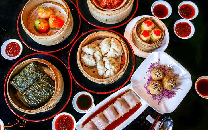 هزینه خورد و خوراک در شانگهای