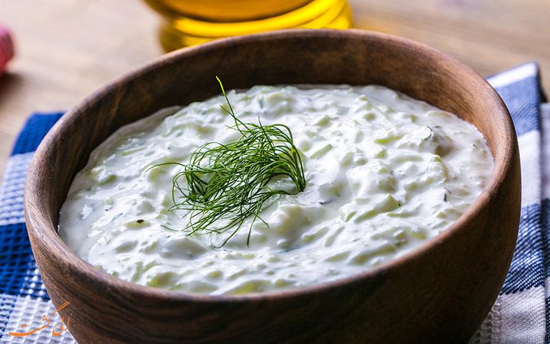 غذاهای یونانی