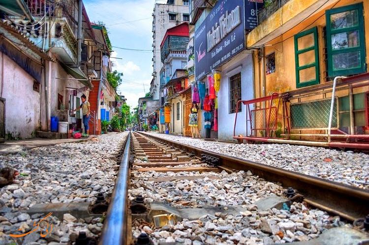 قطارهای هانوی ویتنام
