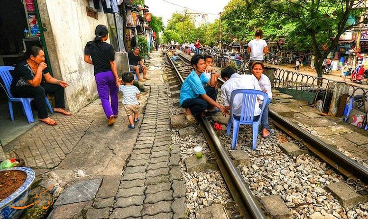 عکس قطارهای هانوی ویتنام