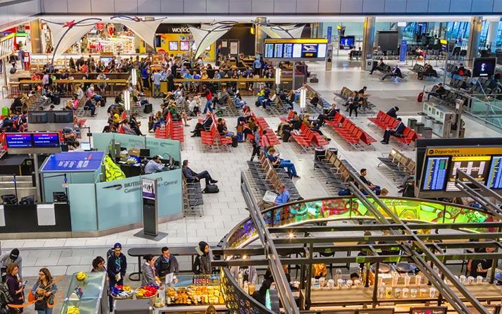 فرودگاه هیترو در بهترین فرودگاه های جهان