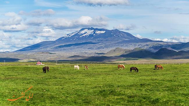 هکلا در ایسلند (